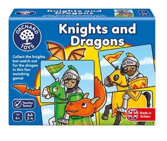 Riddare och Drakar - Spel med riddare, drakar och slott från Orchard Toys