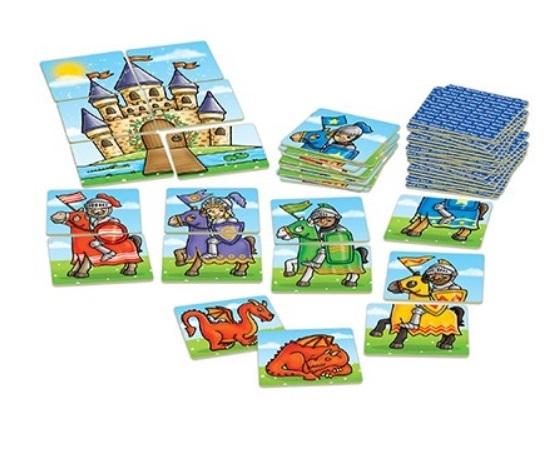 Knights and dragons - Spel med riddare, drakar och slott