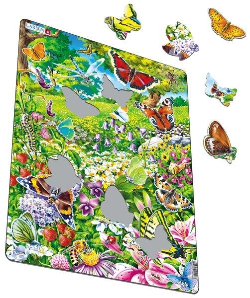 Pussel - Fjärilar (42 bitar)