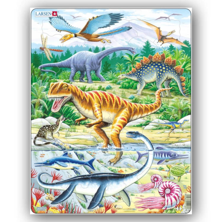Pussel - Dinosaurier (57 bitar)