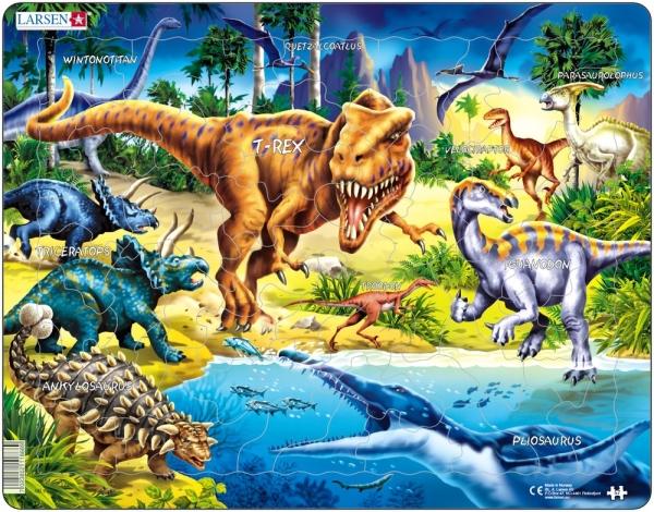 Pussel - Tyrannosaurus Rex (57 bitar)