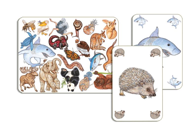 Zanimatch - Spelet där du ska vara först med att hitta djur på kortet