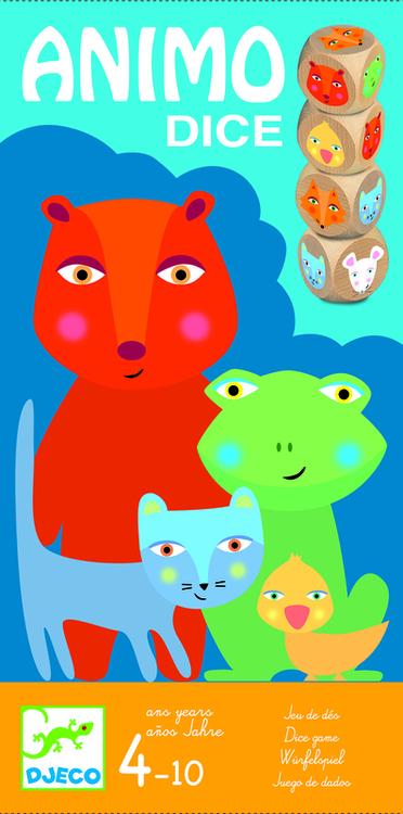 Djurtärning - Roligt tärningsspel med djur