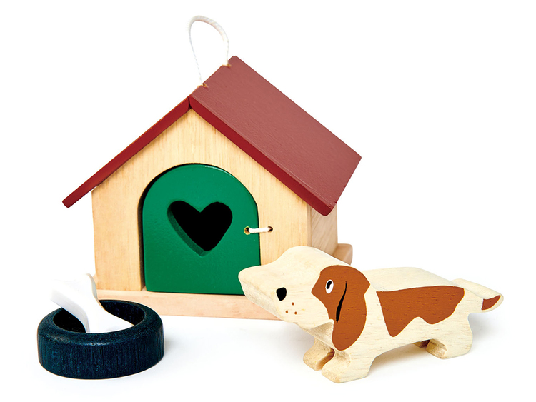 Dockhusdjur -Hund från Tender Leaf Toys
