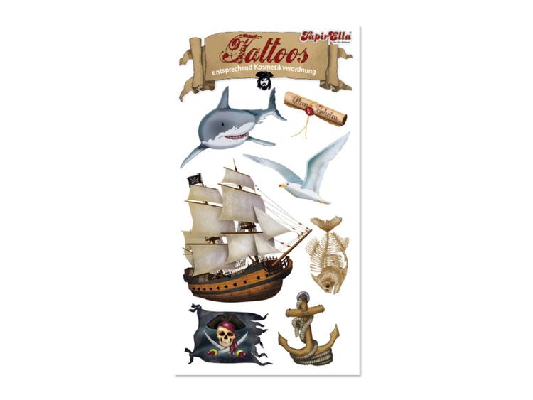 Tatueringar - Pirat (Fraktfritt)