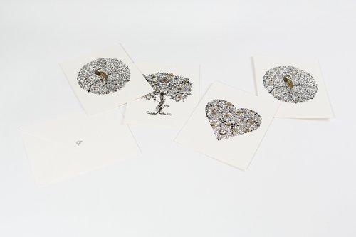 Box med kort att färglägga - Secret Garden