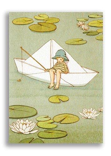 Enkelt Kort - Min lilla segelbåt (Fraktfritt)