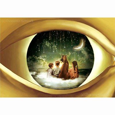 Kort med kuvert - Ögat är själens spegel (Fraktfritt)