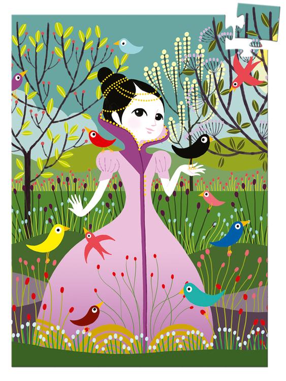 Minipussel - Fågelprinsessan från Djeco