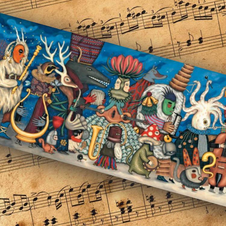 Pussel - Den fantastiska orkestern (500 bitar)