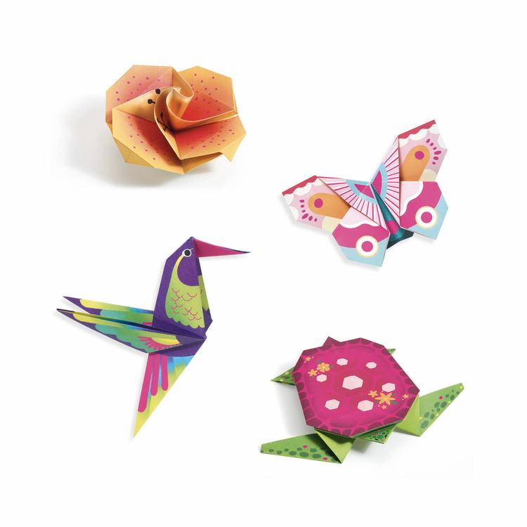 Origami- Tropiska skatter