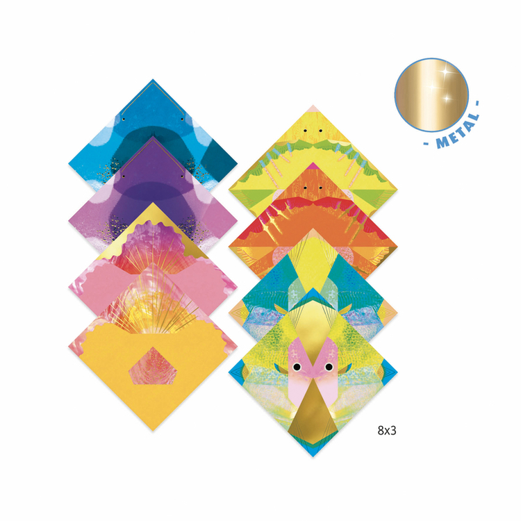Origami Djeco - Djupa djur från Djeco