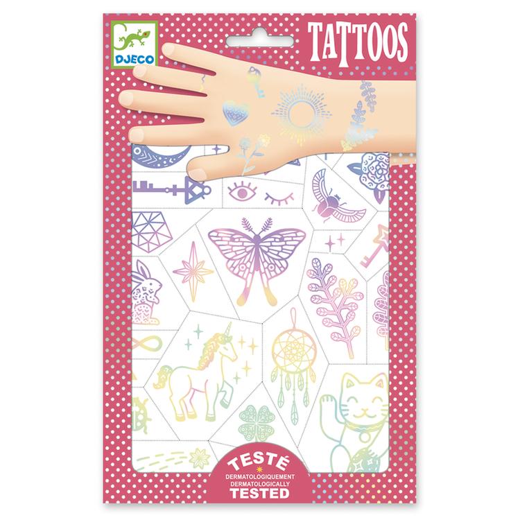 Tatueringar - Lyckosymboler från Djeco