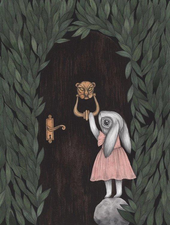 The misunderstoods - 5 vackra vykort från Kajsa Wallin