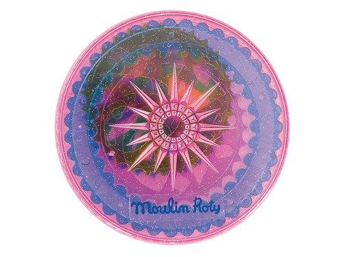 Mandala-ringar - Schabloner från Moulin Roty
