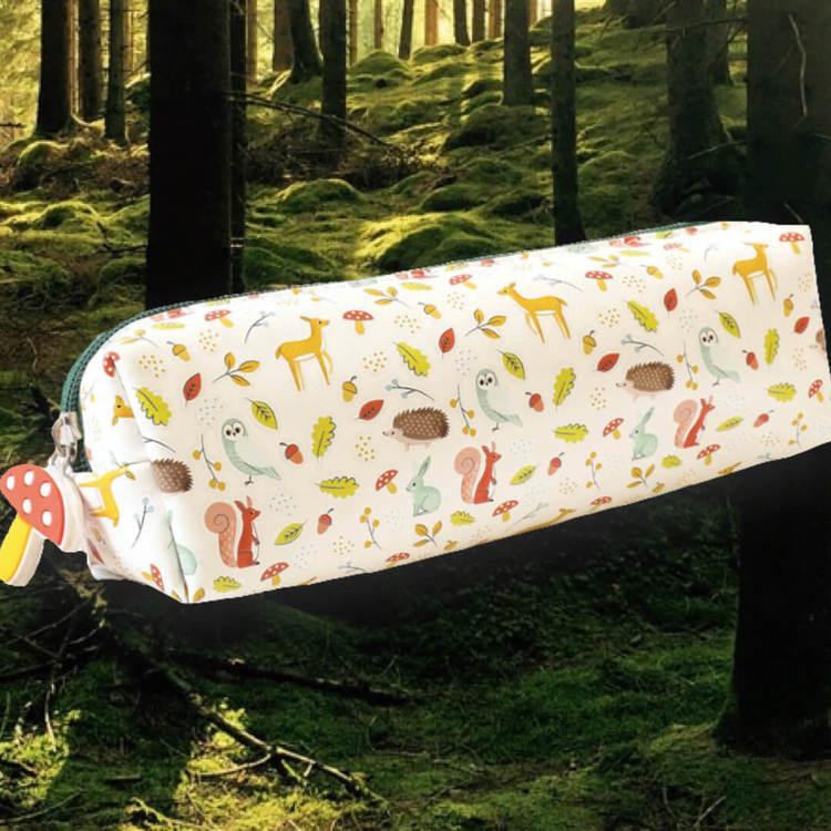 Fint pennskrin för förvaring av dina pennor - Skogsdjur