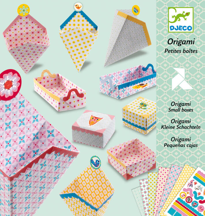 Origami- Vik olika askar