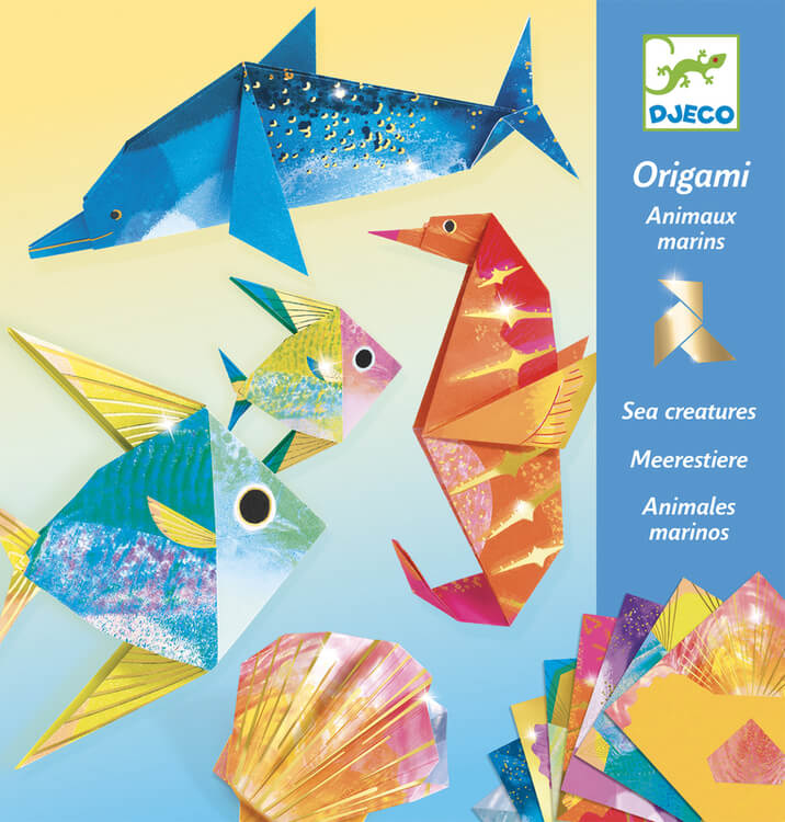 Origami - Djupa djur