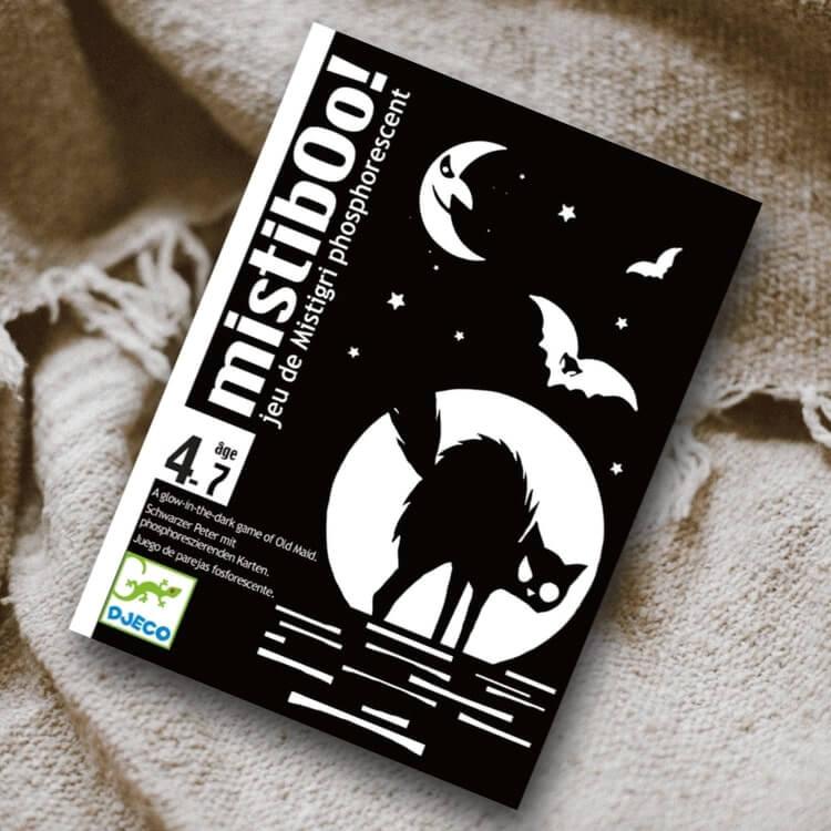 Mistibooh - Kortspelet som lyser i mörkret! från Djeco