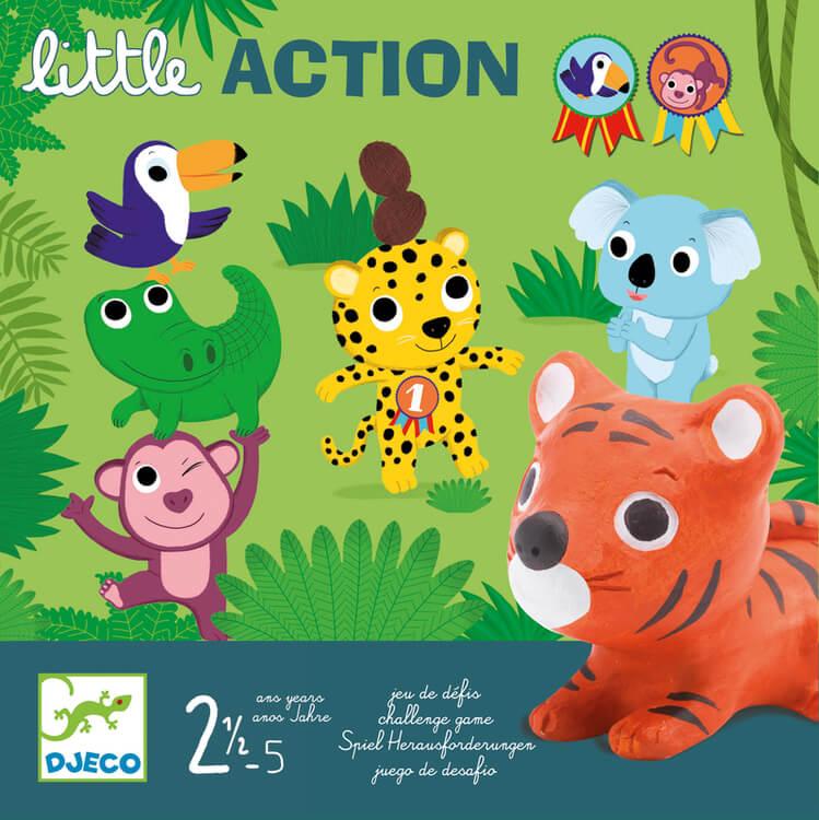 Little action - spel för de minsta från Djeco
