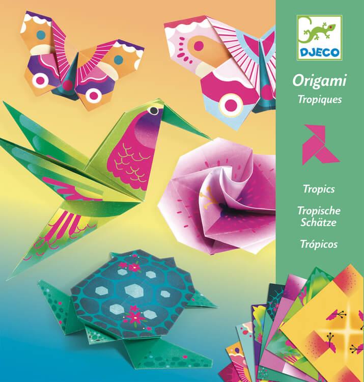 Origami- Tropiska skatter från Djeco