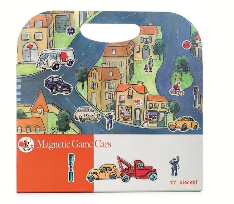Magnetisk lek - Bilar och fordon