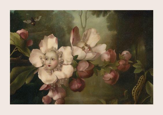 Kort med kuvert - Blommorna (fraktfritt)