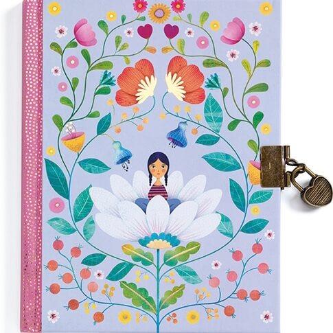 Dagbok - Älvan på blomsterängen från Djeco