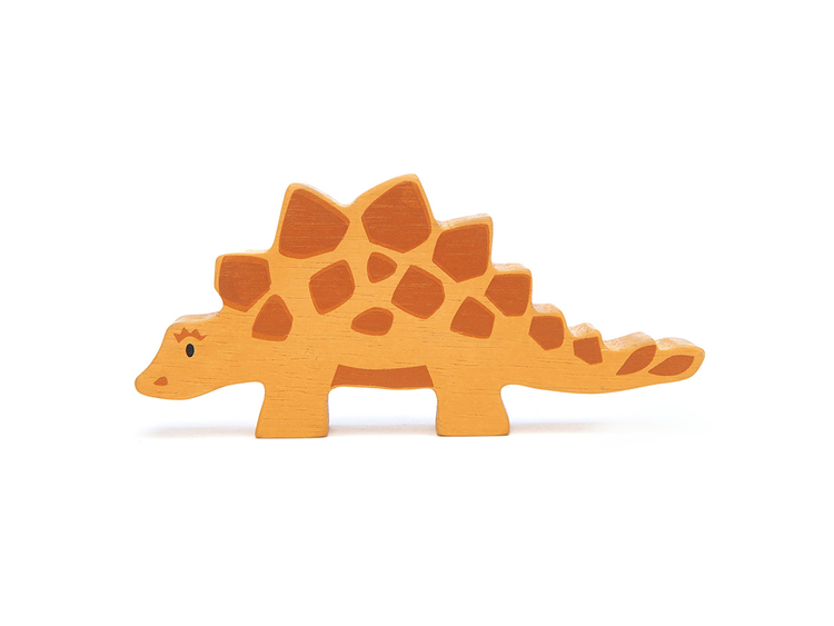 Coola dinosaurier i trä från Tender Leaf Toys
