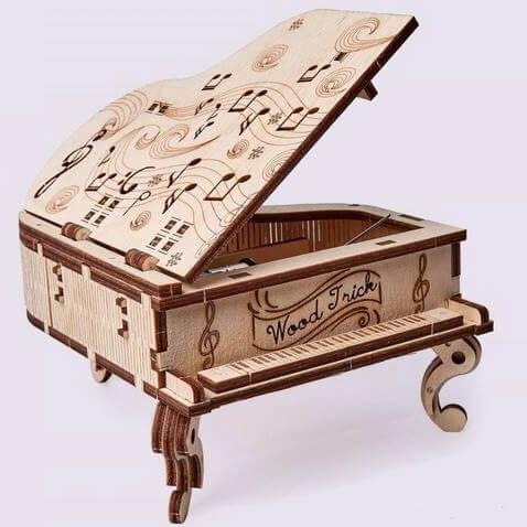 Byggsats - Speldosa Piano