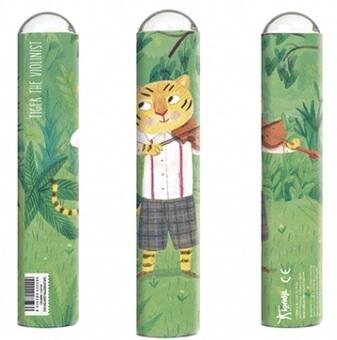 Oktaskop - Den fiolspelande tigern