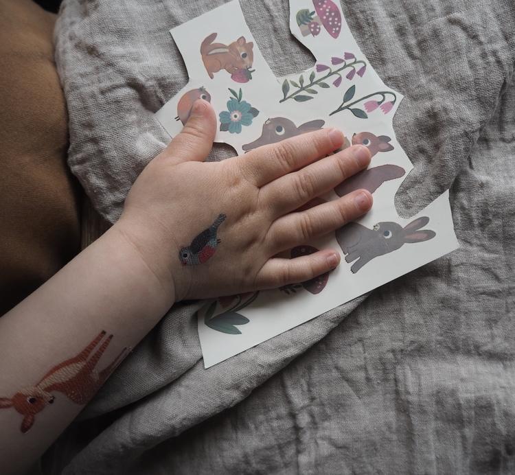 Tatueringar - Skogens vänner från Petit Monkey