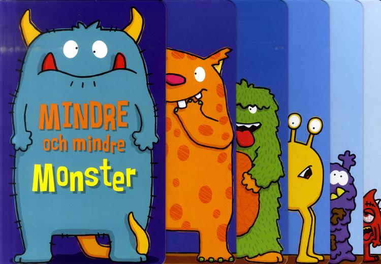 Mindre och mindre monster - En bok som krymper...