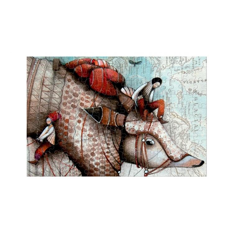 Micropussel - Den magiska resan (150 bitar) från Londji
