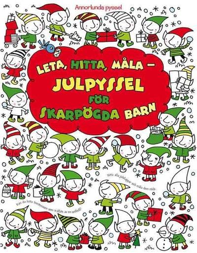 Leta, hitta, måla - Julpyssel för skarpögda barn