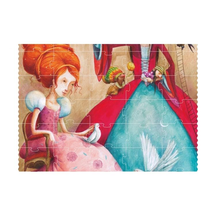 Pussel - Vi är prinsessor! (100 bitar) från Londji
