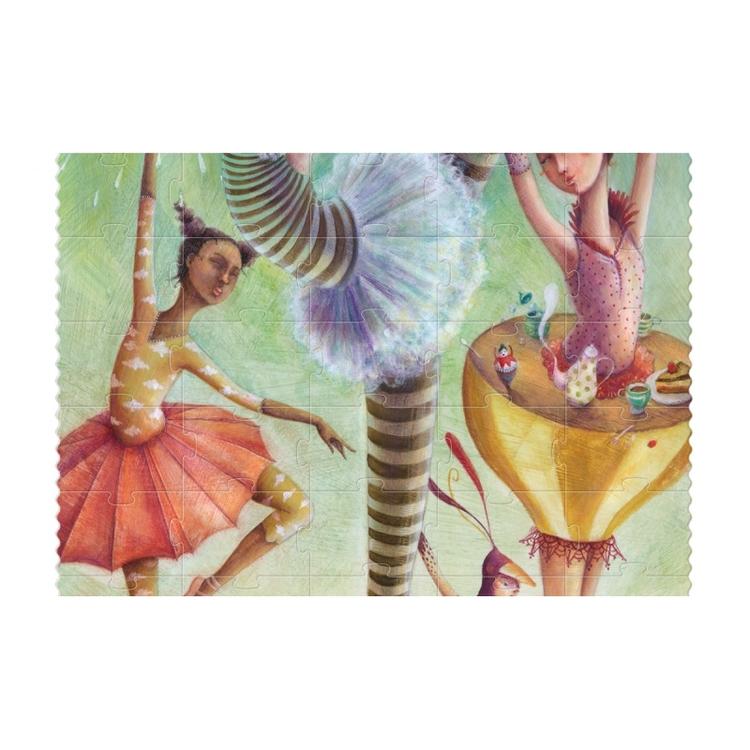 Pussel - Vi är ballerinor! (100 bitar) från Londji