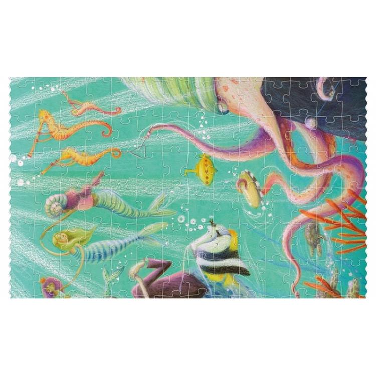 Sjöjungfrupussel med glitter! (350 bitar) från Londji