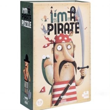 Pussel - Jag är en pirat! (100 bitar)