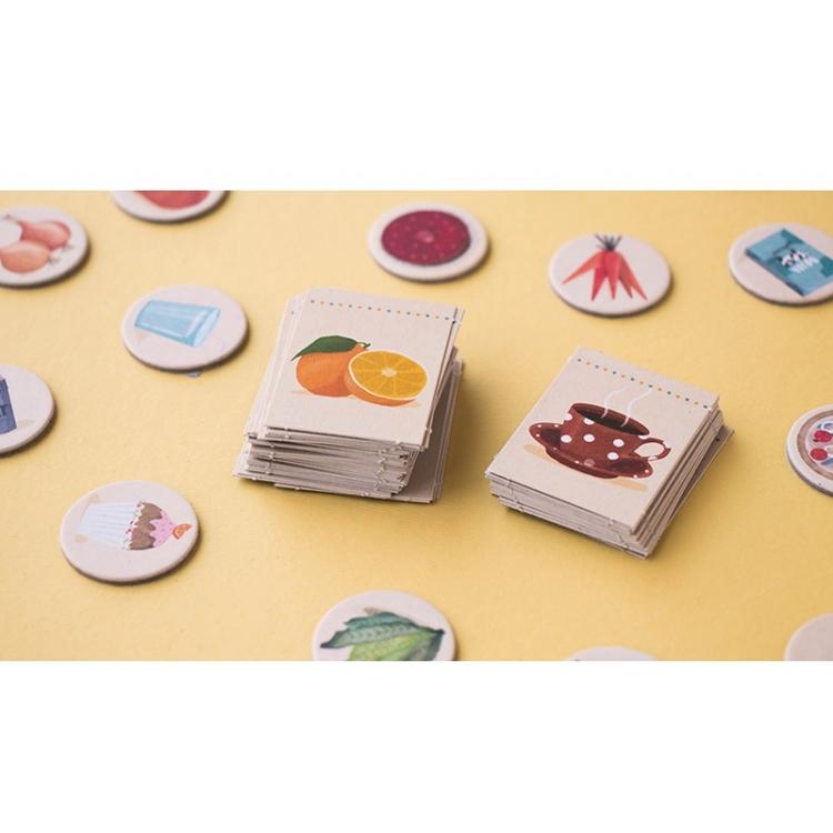 Roligt snabbhetsspel om mat i pocketformat från Londji