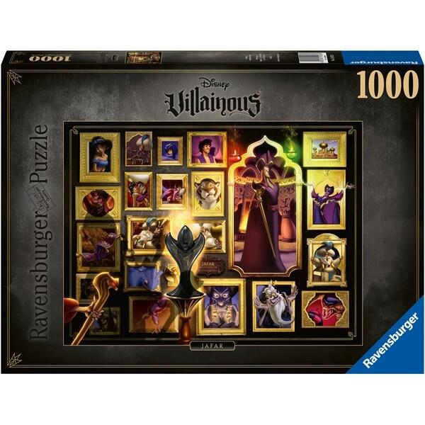 Pussel Disneyskurkar -Jafar (1000 bitar) från Ravensburger