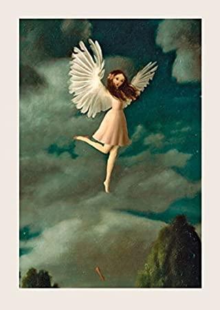 Kort med kuvert - Flickan, himlen och skon (Fraktfritt)