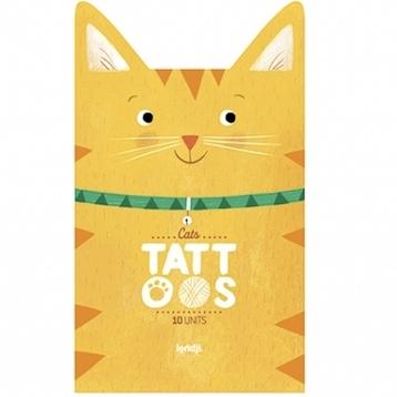 Tatueringar - Katter från Londji