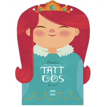 Tatueringar - Prinsessor och Prinsar från Londji