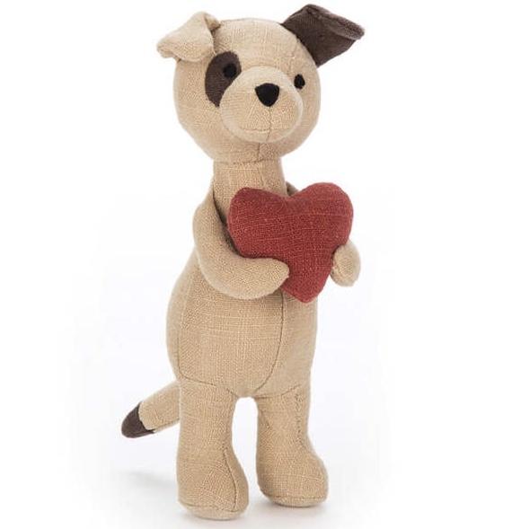 Liten hundvalp (Mini Messenger Puppy) från Jellycat