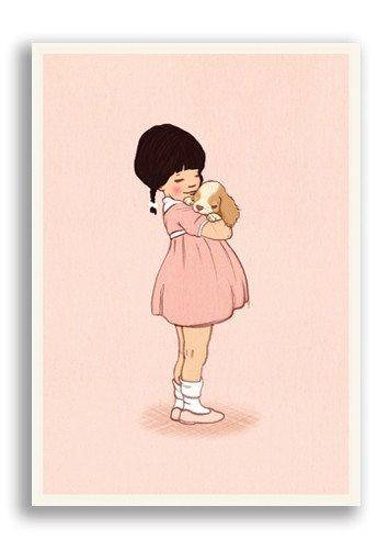 Enkelt Kort - Lilla vän (Fraktfritt)