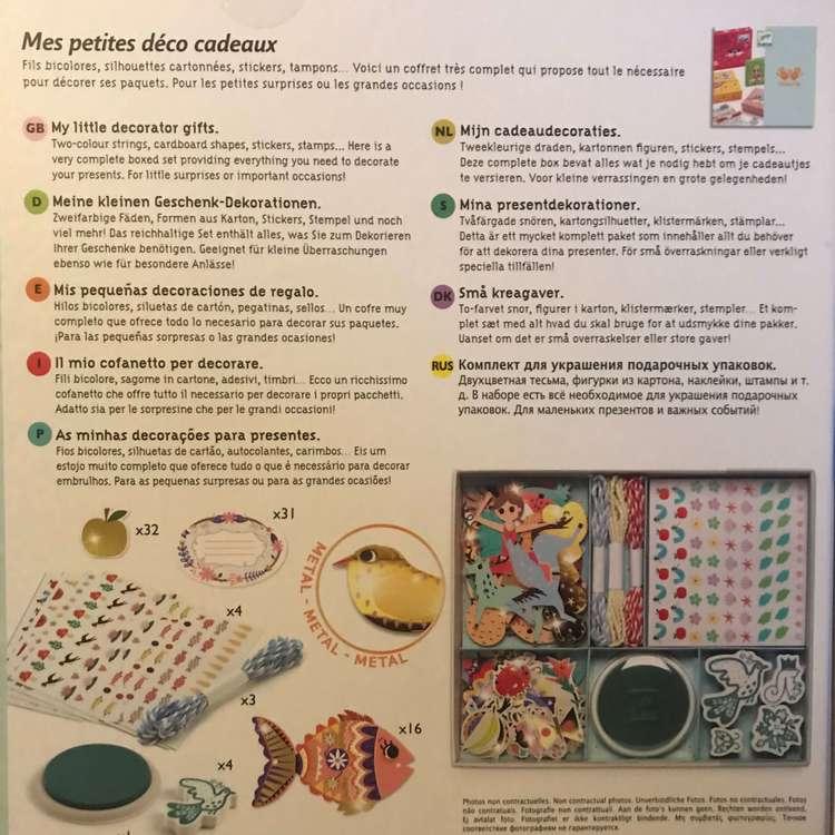 Dekoration och pyssel-kit från Djeco