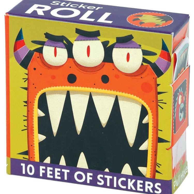 Klistermärken - Monster