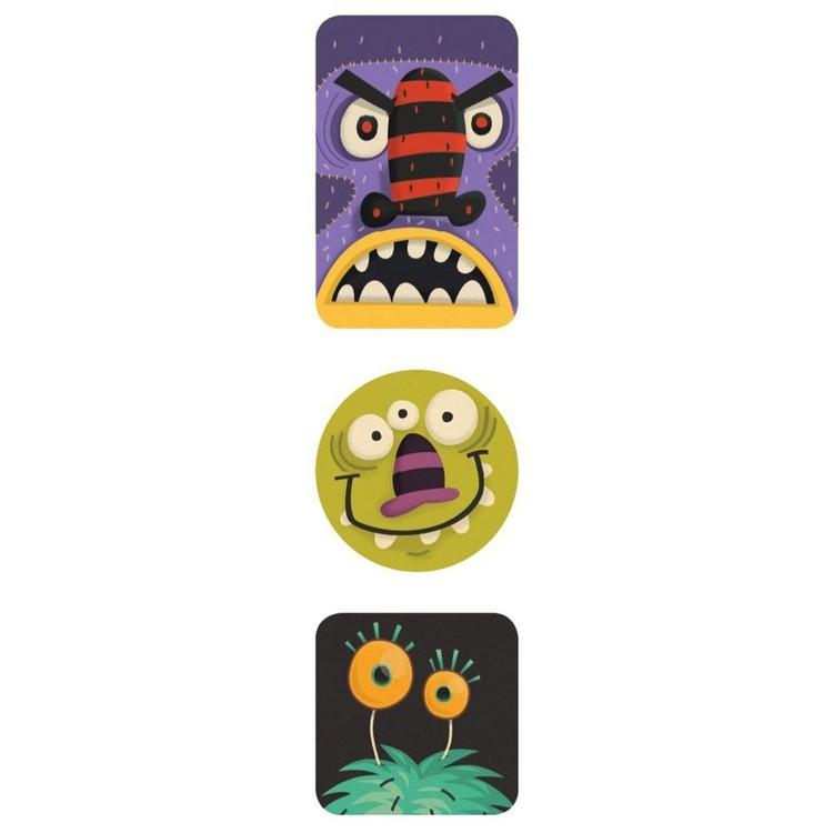 Klistermärken - Monster från Mudpuppy
