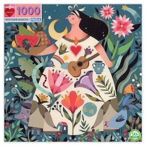 Pussel -Moder Jord (1000 bitar) från EeBoo